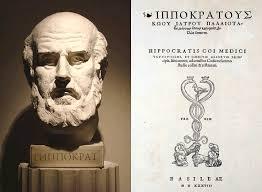 Fobi i antikken. byste af den græske læge Hippocrates. Han var den første læge der beskrev en irrationel frygt, som vi idag kalder fobi